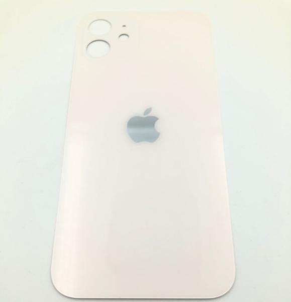 Задняя крышка (стекло) для Apple iPhone 12, цвет: белый