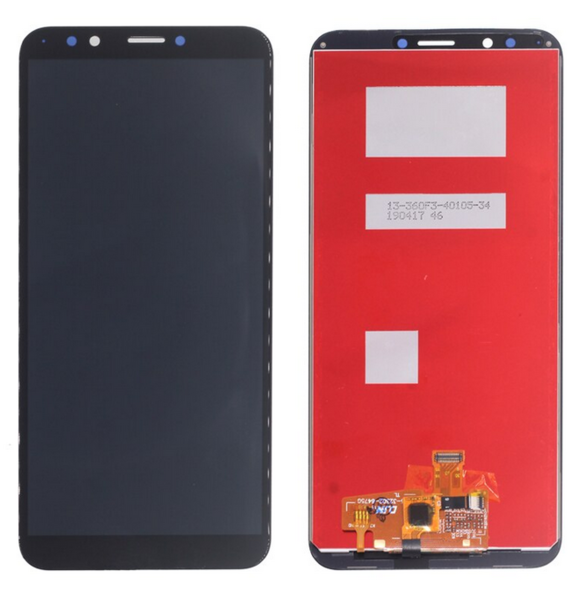 Экран для Huawei Y7 2018, Y7 Pro 2018, Y7 Prime 2018 с тачскрином, цвет: черный