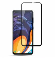 Защитное стекло для Samsung Galaxy M40 (SM-M405F) 5D (полная проклейка), цвет: черный