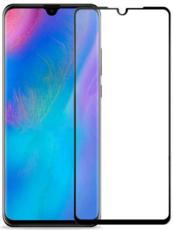 Защитное стекло для Huawei Nova 5 5D (полная проклейка), цвет: черный