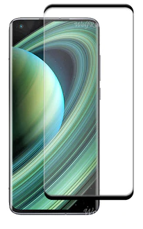 Защитное стекло для Xiaomi Mi 10 Ultra 5D (полная проклейка), цвет: черный