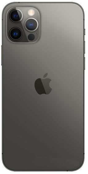 Задняя крышка (корпус) для Apple iPhone 12 Pro, цвет: графитовый