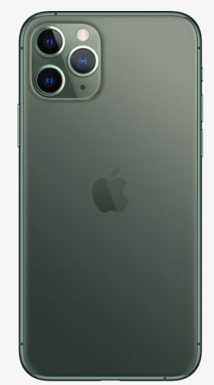 Задняя крышка (корпус) для Apple iPhone 11 Pro, цвет: темно-зеленый