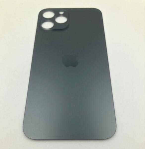 Задняя крышка (стекло) для Apple iPhone 12 Pro MAX, цвет: графит