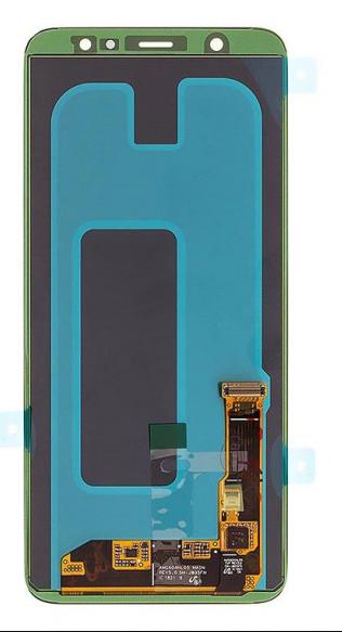 Экран для Samsung Galaxy A6 Plus с тачскрином, цвет: черный, оригинальный