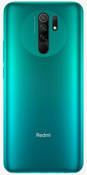 Задняя крышка (корпус) для Xiaomi Redmi 9, цвет: зеленый