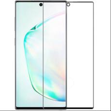 Защитное стекло для Samsung Galaxy Note 10 5D (полная проклейка), цвет: черный