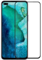 Защитное стекло для Huawei Honor View 30 (V30) Pro 5D (полная проклейка), цвет: черный