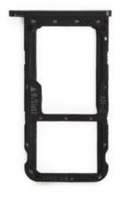 Sim-слот (сим-лоток) для Huawei P20 lite, цвет: черный