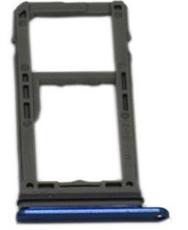 Sim-слот (сим-лоток) для Samsung Note 8, цвет: синий