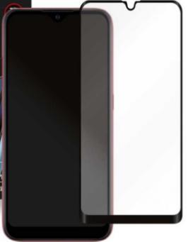 Защитное стекло для Samsung Galaxy A01 (SM-A015F) 5D (полная проклейка), цвет: черный