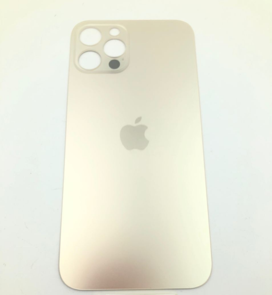 Задняя крышка (стекло) для Apple iPhone 12 Pro, цвет: золото