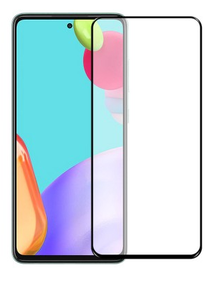 Защитное стекло для Xiaomi Redmi K40 5D (полная проклейка), цвет: черный