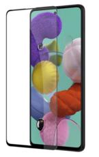 Защитное стекло для Samsung Galaxy A51 (SM-A515F) 5D (полная проклейка), цвет: черный