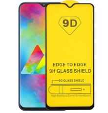 Защитное стекло для Samsung Galaxy M30 (SM-M305F) 5D (полная проклейка), цвет: черный