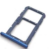 Sim-слот (сим-лоток) для Huawei P20 lite, цвет: синий