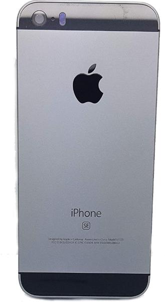 Задняя крышка (корпус) для Apple iPhone SE, цвет: серый