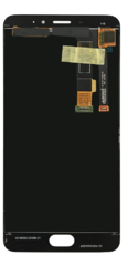 Экран для Meizu M3e,E с тачскрином, цвет: белый