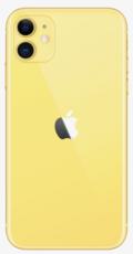 Задняя крышка (корпус) для Apple iPhone 11, цвет: желтый
