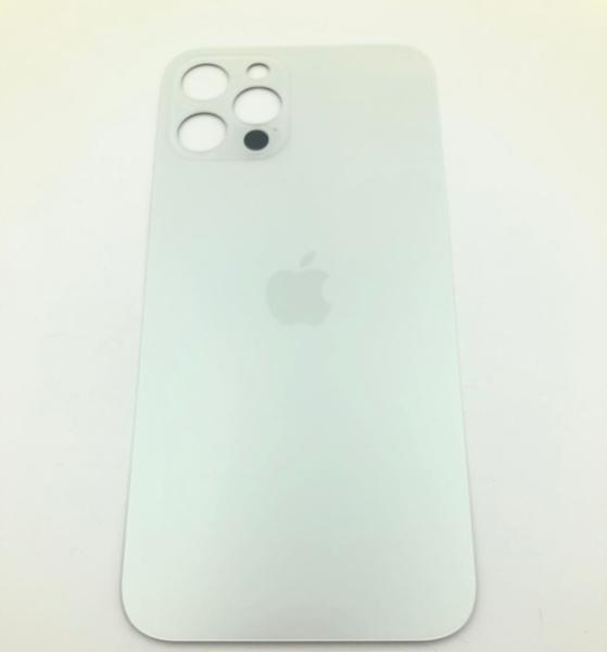 Задняя крышка (стекло) для Apple iPhone 12 Pro, цвет: белый