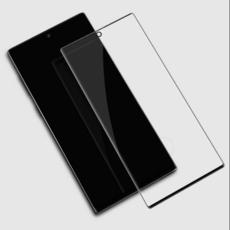 Защитное стекло для Samsung Galaxy Note 10 Plus + (N9750) 5D (полная проклейка), цвет: черный
