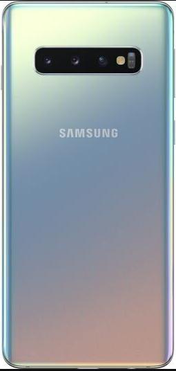 Задняя крышка (корпус) для Samsung Galaxy S10+ (G9750), цвет: серый