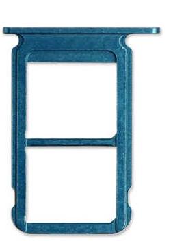 Sim-слот (сим-лоток) для Huawei Honor 10, цвет: синий