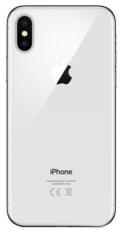 Задняя крышка для Apple iPhone X, цвет: белый