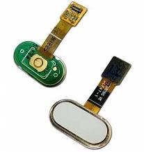 Шлейф кнопки Home (с кнопкой) для Meizu M5S, цвет: белый