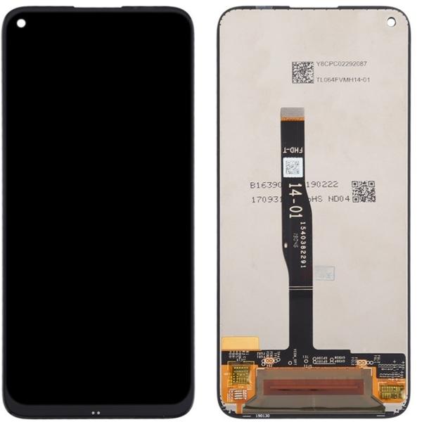 Экран для Huawei Nova 5i с тачскрином, цвет: черный
