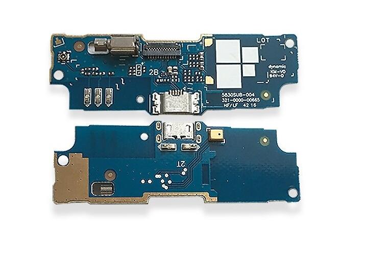 Нижняя плата для Asus ZenFone GO ZB552KL с разъемом зарядки