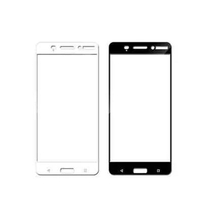 Защитное стекло для Nokia 3 5D (полная проклейка) цвет: черный