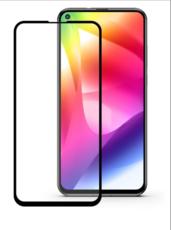 Защитное стекло для Huawei Honor 20 Pro 5D (полная проклейка), цвет: черный