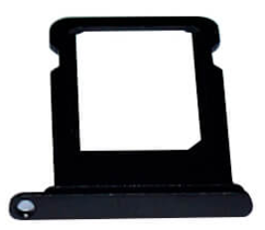 Sim-слот (сим-лоток) для iPhone 7, цвет: черный
