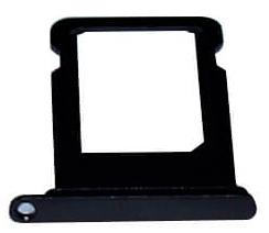 Sim-слот (сим-лоток) для iPhone 8, цвет: черный
