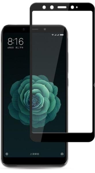 Защитное стекло для Nokia 8.3 5D (полная проклейка), цвет: черный