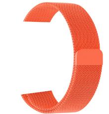 Металлический ремешок для Apple Watch 42/44 мм, цвет: оранжевый