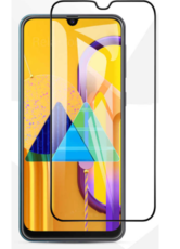 Защитное стекло для Samsung Galaxy M31s 5D (полная проклейка), цвет: черный