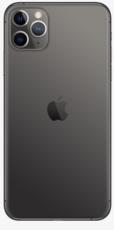 Задняя крышка (корпус) для Apple iPhone 11 Pro Max, цвет: темно-серый