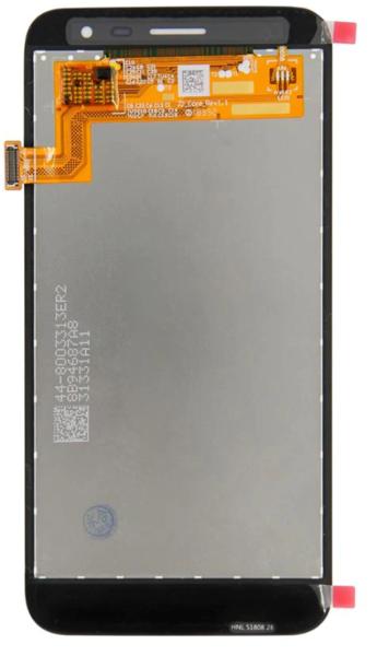 Экран для Samsung Galaxy J2 core 2020 с тачскрином, цвет: черный, оригинальный