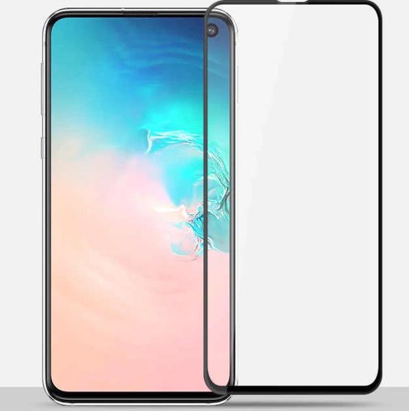 Защитное стекло для Samsung Galaxy A50 5D (полная проклейка), цвет: черный