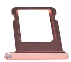 Sim-слот (сим-лоток) для iPhone 7 Plus, цвет: розовое золото