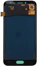 Экран для Samsung Galaxy J2 2018 с тачскрином, цвет: золотой, OLED