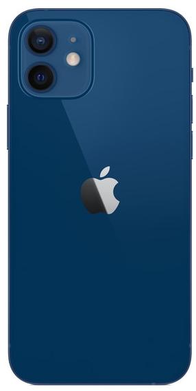 Задняя крышка (корпус) для Apple iPhone 12, цвет: синий