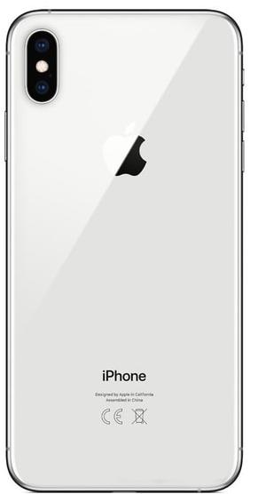 Задняя крышка (корпус) для Apple iPhone XS Max, цвет: белый