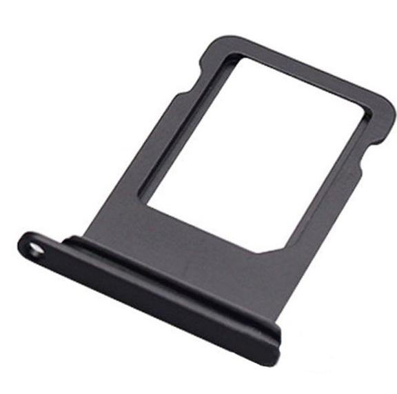 Sim-слот (сим-лоток) для iPhone 8 Plus, цвет: черный