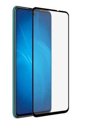 Защитное стекло для Huawei P smart 2021 5D (полная проклейка), цвет: черный