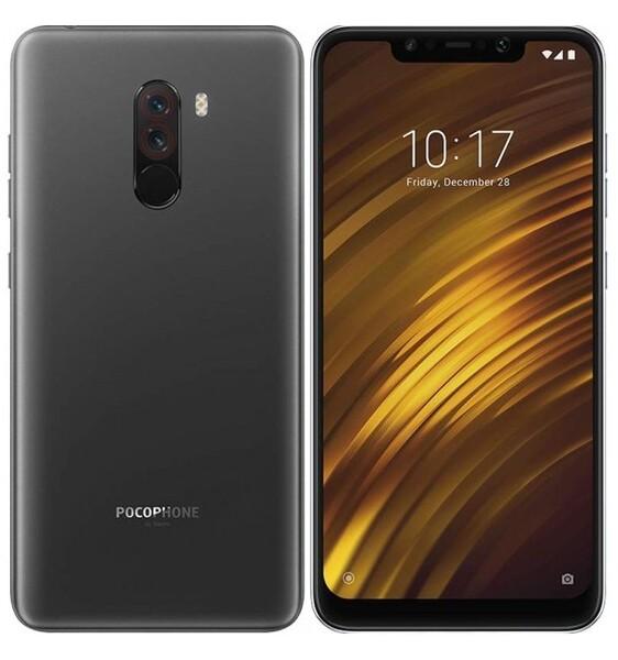 Задняя крышка для Xiaomi Pocophone F1 цвет: черный