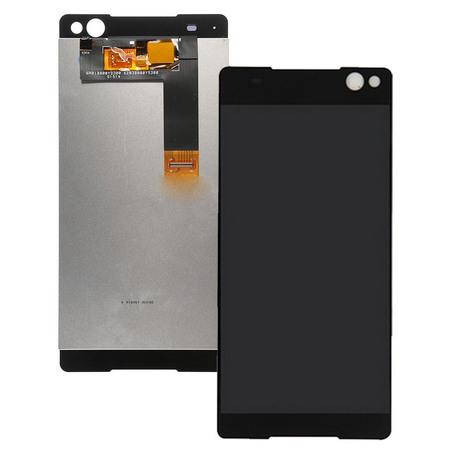 Экран для Sony Xperia C5 Ultra E5533 с тачскрином, цвет: черный (оригинал)