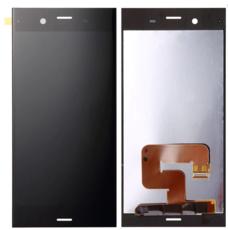 Экран для Sony Xperia XZ1 с тачскрином, цвет: черный